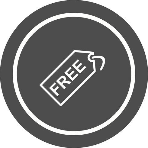 Gratis ontwerp van een tag-pictogram