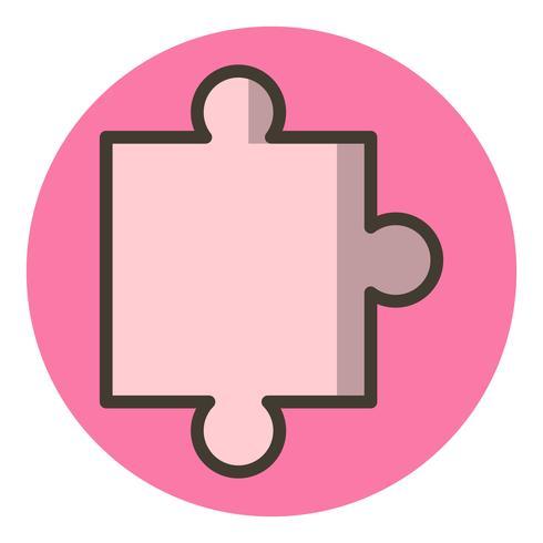 pieza de puzzle icono de diseño