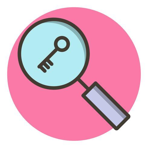 Suchwort-Icon-Design