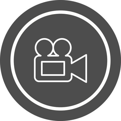 Video Camera Icon Design vector