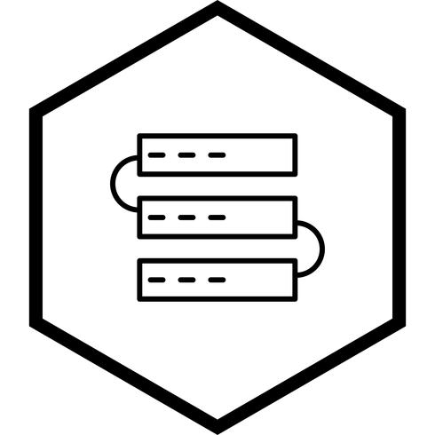 Servers Icon Design vector