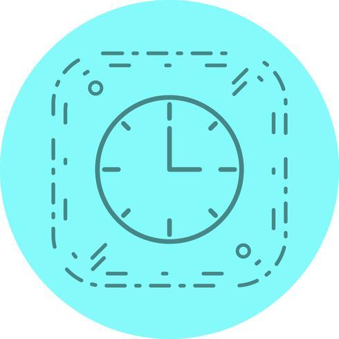 Clock Icon Design vector