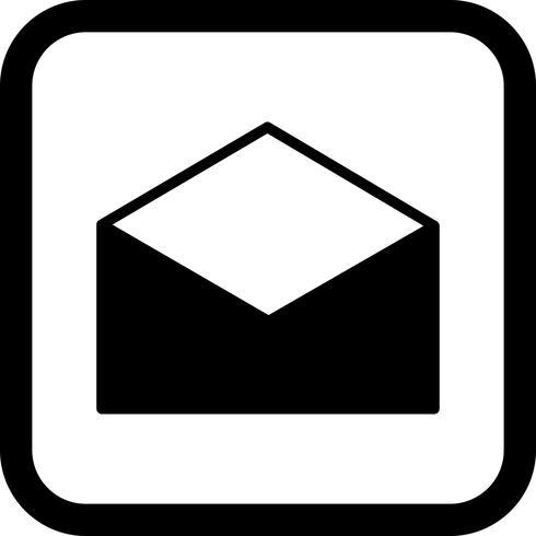 Envelop pictogram ontwerp