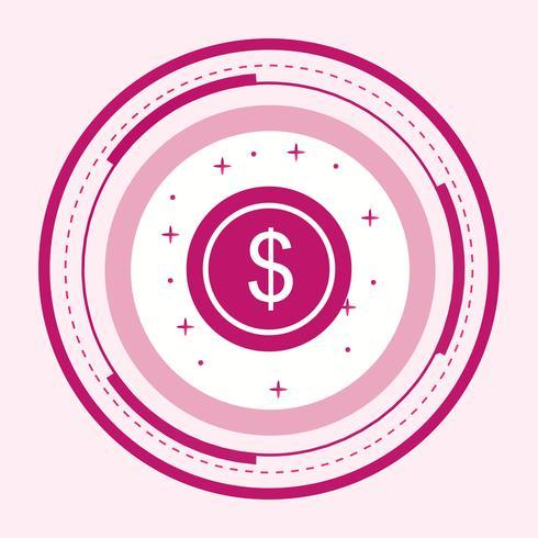 Dollari Coin Icon Design