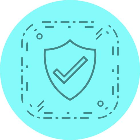 Shield Icon Design vector
