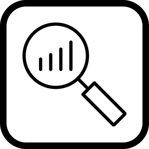Conception d'icône d'analyse