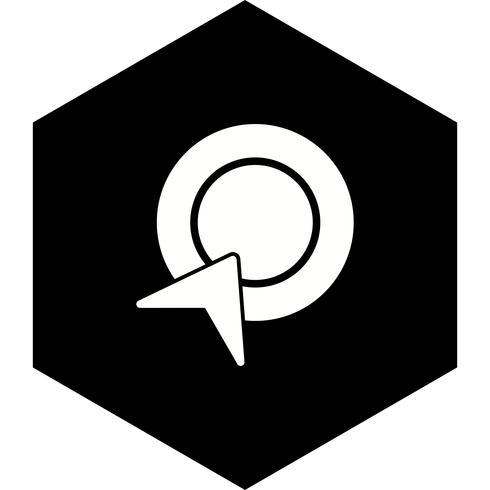 betala per klick ikon design vektor