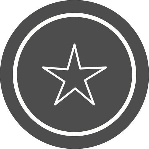 Diseño de icono de estrella