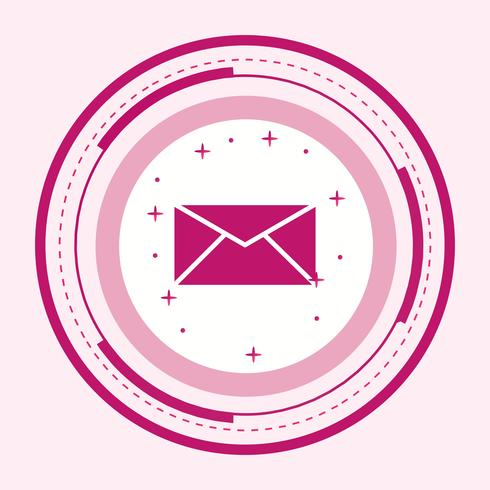 Inbox Icon Design vector