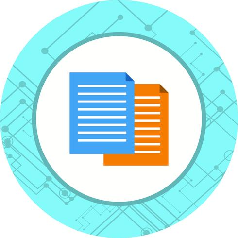 Files Icon Design vector