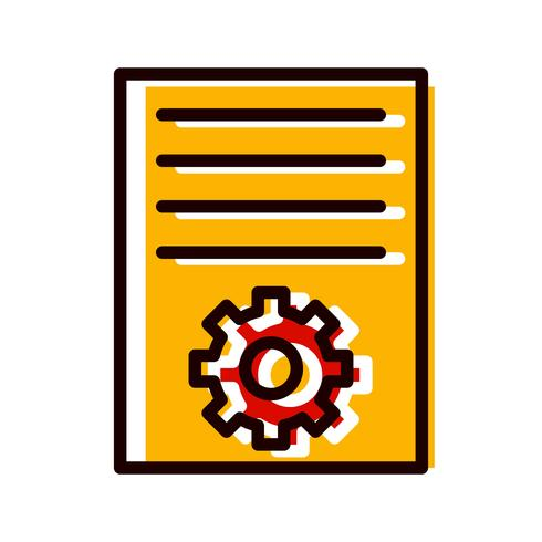 Article Marketing Icon Design