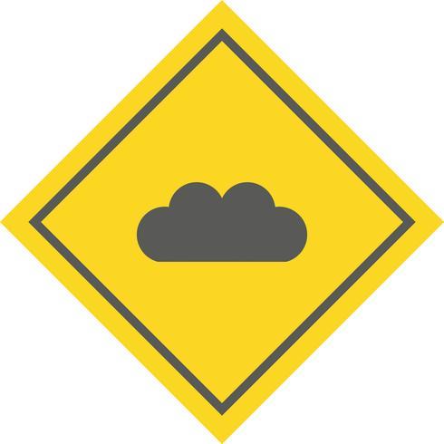 Cloud pictogram ontwerp
