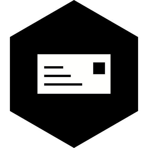 Diseño de icono de tarjeta de identificación vector