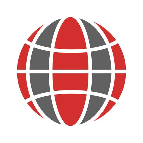 Globe Icon Design vecteur