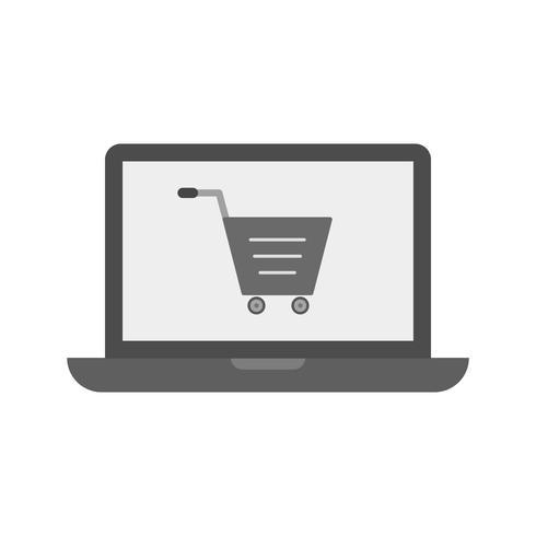Online Shopping Icon Design vector