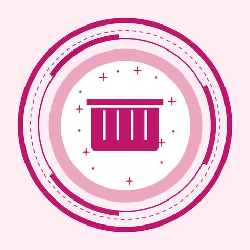 Basket Icon Design vector
