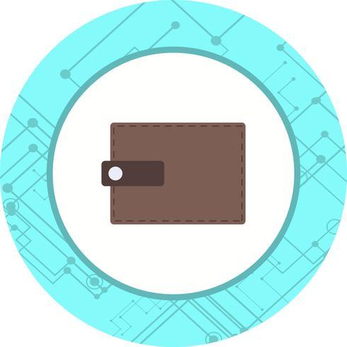 Diseño de icono de billetera