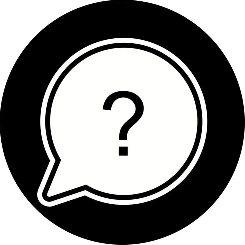 Question Icon Design vector