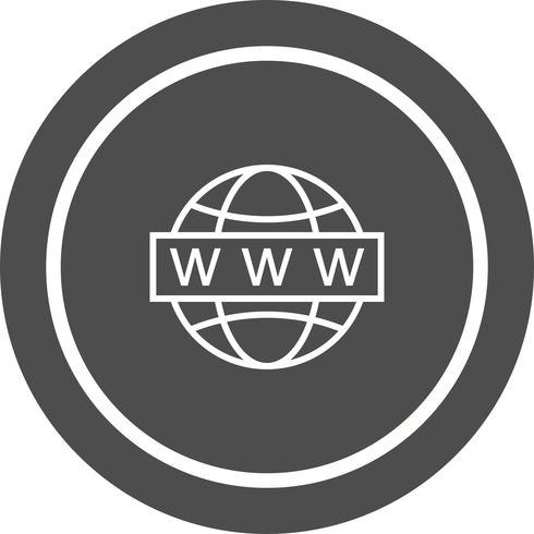 Diseño de iconos de búsqueda web vector