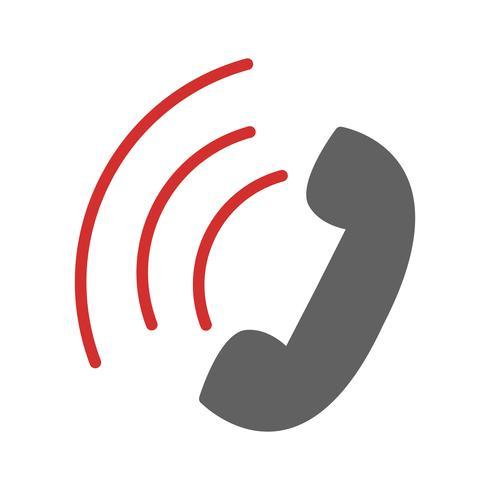 Active Call Icon Design vector