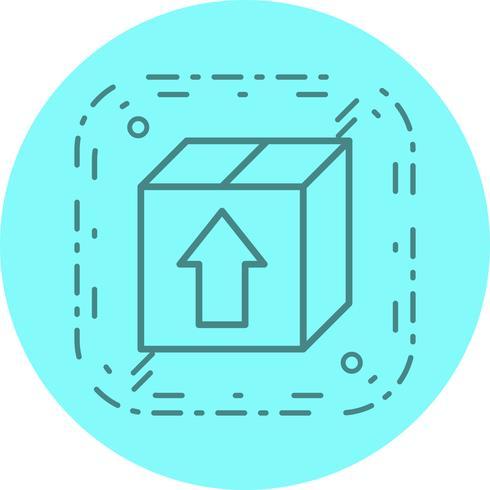 conception d'icône de paquet vecteur