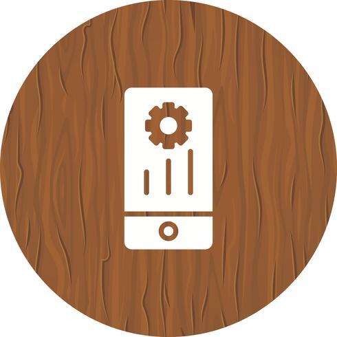 Mobile Marketing Icon Design vector