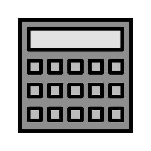 Design de ícone de cálculo