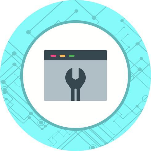 Browsereinstellungen-Icon-Design