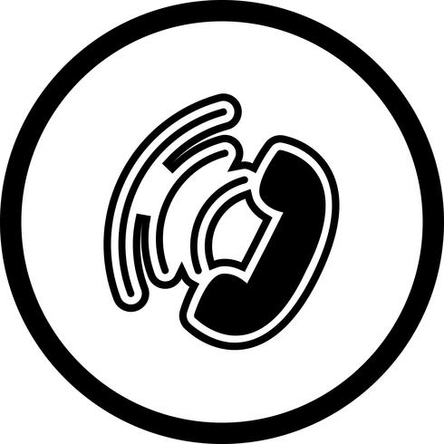 Active Call Icon Design vector