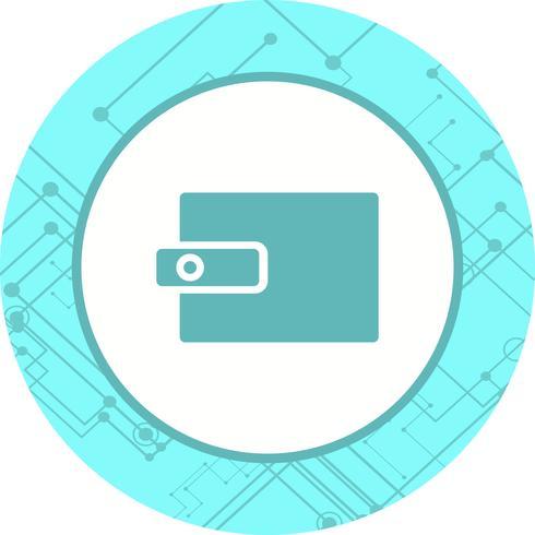 Ontwerp van portemonnee-icoon
