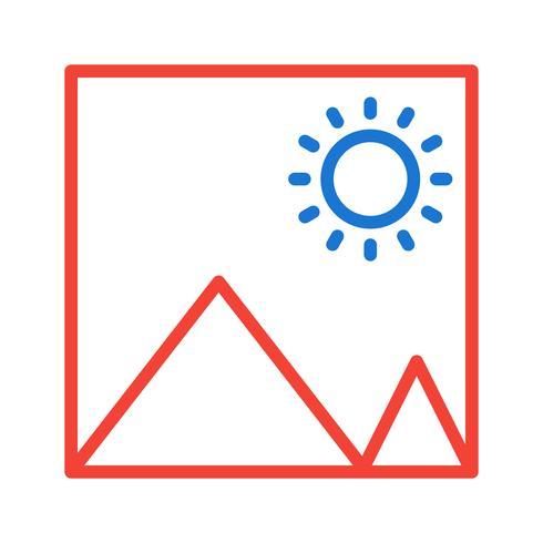 Desenho do ícone de imagem