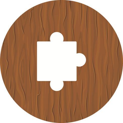 projeto de ícone de peça de quebra-cabeça