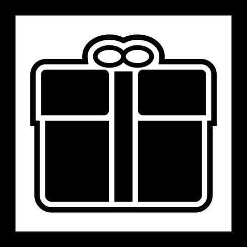 Diseño de icono de regalo