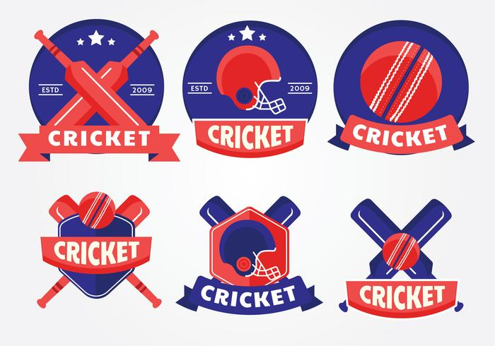 Cricket Logo Vector Pack