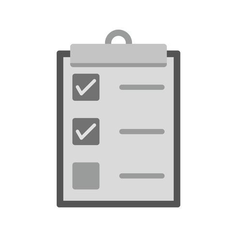 Projeto de ícone de lista de verificação