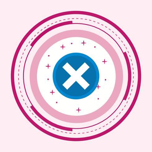 Cancelar o desenho do ícone