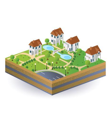 Maisons de village