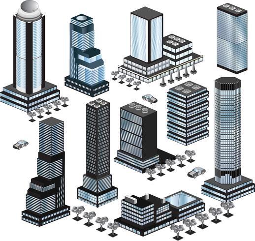 Vector byggnader