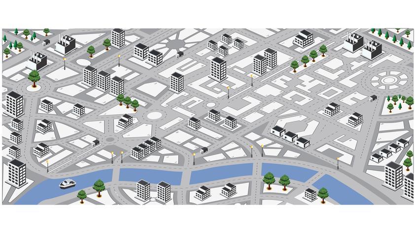 Mapa vectorial