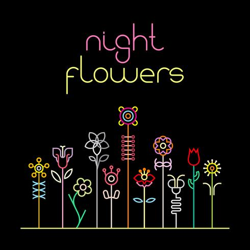 Flores da noite