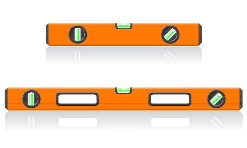 ilustración vectorial de nivel de herramienta vector
