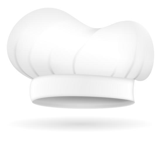 Chef Hut Vektor-Illustration vektor