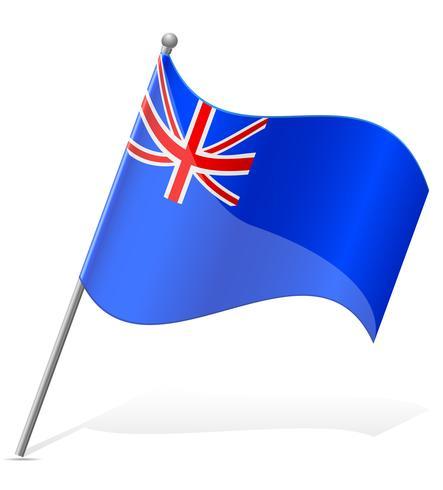 drapeau des îles Sainte-Hélène vector illustration