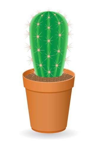 illustration vectorielle de cactus vecteur
