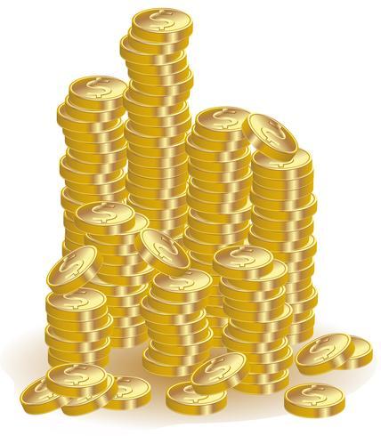 moedas de ouro