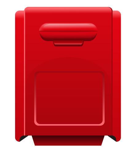 ilustração em vetor ícone caixa postal
