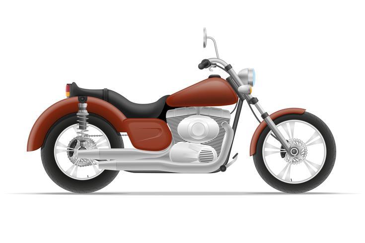 ilustração vetorial de motocicleta