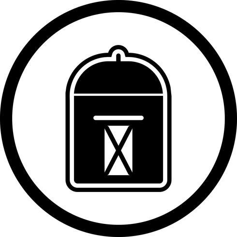 Postbox Icon Design vector