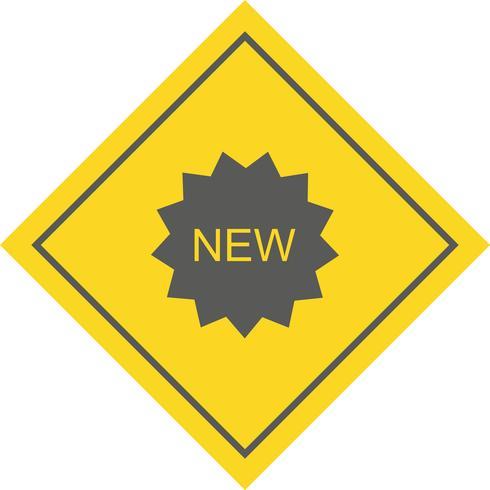 Nouveau design d'icônes vecteur