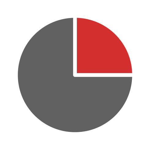 Cirkeldiagram pictogram ontwerp